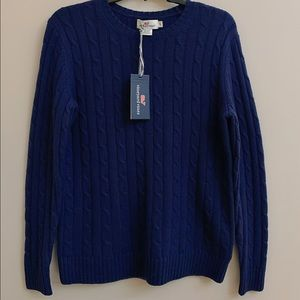 Vineyard Vines Cable Knit Sweater Small NWT